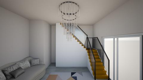 impressive staircase - Living room  - by Elaine_the_bold