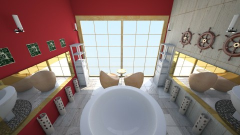Douche 7 - Glamour - Bathroom  - by Mah003