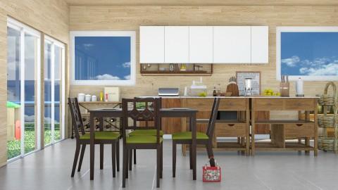 Lunch - Modern - Kitchen  - by InteriorDesigner111