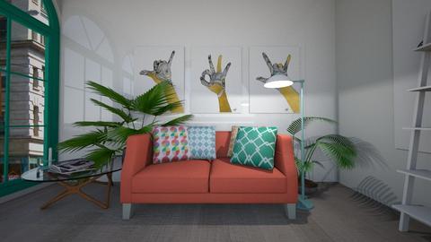 simple living room - by blackdaisies