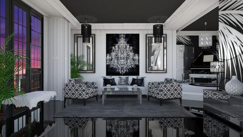 BLACK BEAUTY - Classic - Living room  - by RS Designs