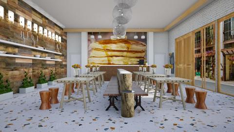 Pancake eatery  - Rustic - by augustmoon