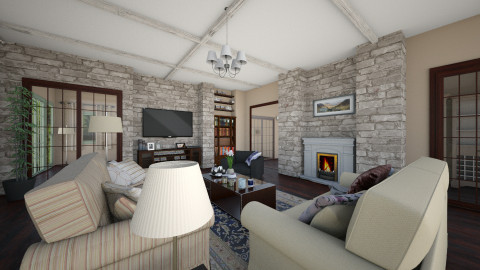 Residence Living Room - Classic - Living room - by Bee0196