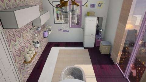 prpl beige - Modern - Kitchen  - by Irida Niko