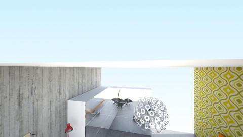 Bedroom Fenixloft - Retro - Bedroom  - by JamboInterieur
