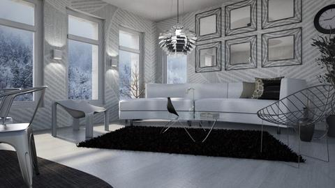 Monochromatic - Modern - Living room  - by LuzMa HL