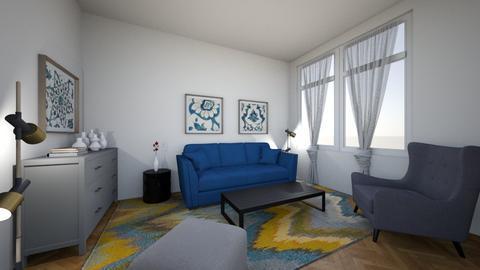 Grey - Classic - Living room  - by Twerka