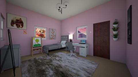 Amelie 1 - Bedroom  - by Agnes_Bujnick