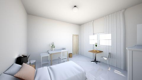 cardboard room - Minimal - Bedroom  - by Gpassorn