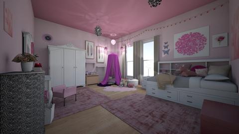 Pink Dreams - Bedroom  - by RettaLynn