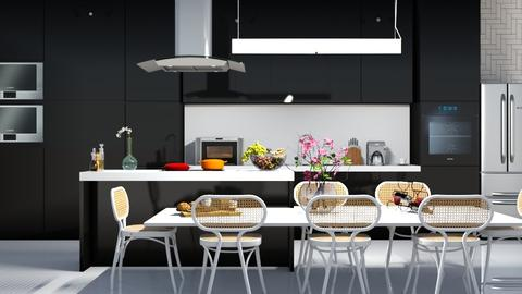shiny - Modern - Kitchen - by Aymee Estrella
