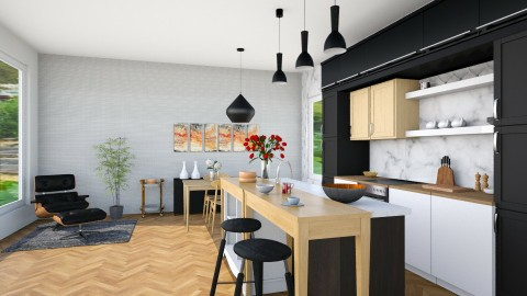 Aussie Modern - Modern - Kitchen  - by IdaJo