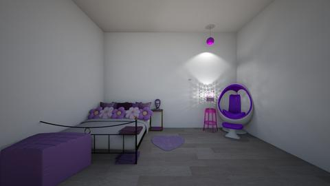 E Girl bedroom - Bedroom  - by crying_room