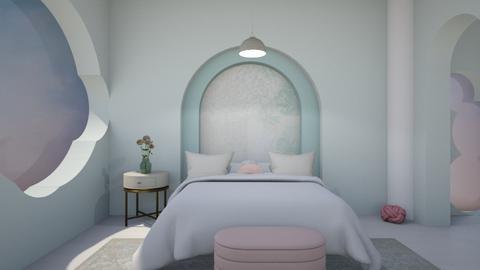 soft colours bedrrom - Bedroom  - by rasty