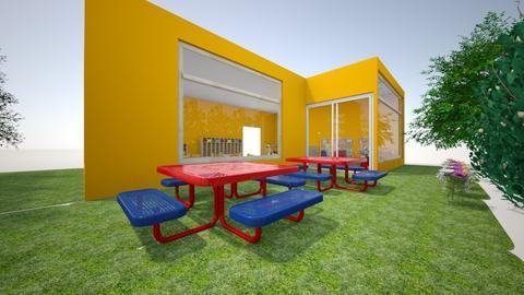 ANTES Plano del espacio - Kids room  - by sofiamayen