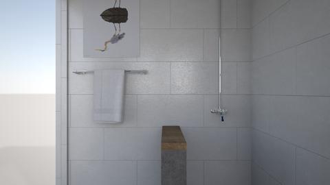 Holly master bath - Bathroom  - by Morse High