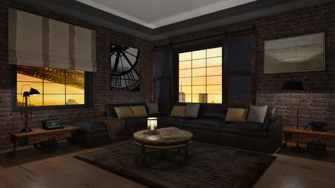 Loft - Eclectic - Living room  - by Elenny