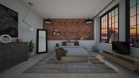 Mixed Styles - Bedroom - by irug19_