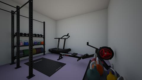 relaxing lavender gym - Modern - by I heart unicorns9
