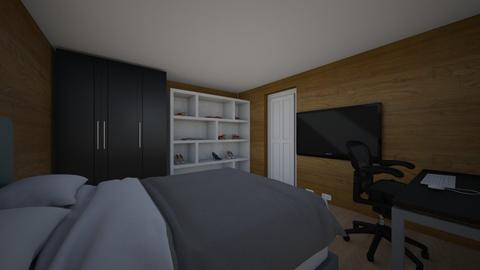 rom design 1 - Bedroom  - by Janves02