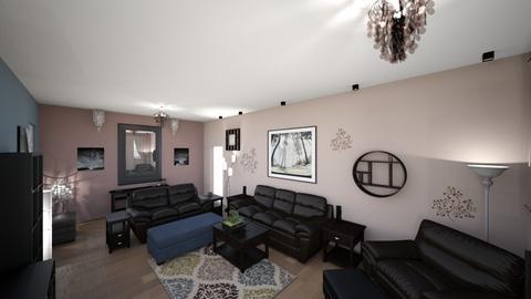 Contemporary Living Rm 3 - Living room - by lioness006