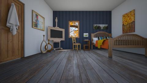 Van Gogh Bedroom  - Bedroom  - by Sadieeeeeeee