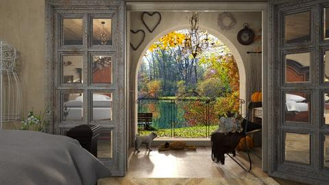 Fall in Love - Bedroom  - by LuzMa HL