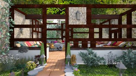 City garden - Modern - Garden  - by Laurika