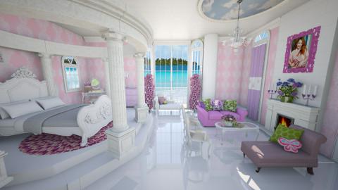 princess bedrooom - Bedroom - by Patricia Mari Rosario