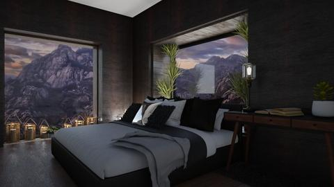 mountain fall - Bedroom - by aggelidi 12312