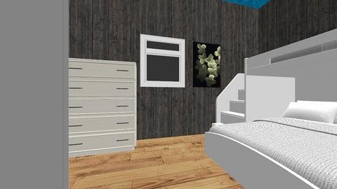 Art Project Bedroom - Modern - Bedroom - by Brena_PT