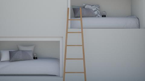 Fun BUNKS - Modern - Bedroom  - by len1924
