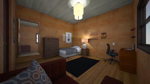 habitacion mia - Bedroom  - by Ppancho21