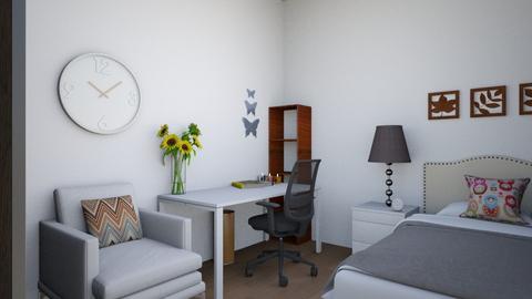 mi pieza - Classic - Bedroom  - by abrili