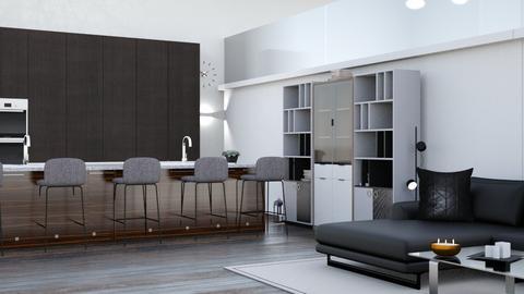 open plan living - Modern - by martinini