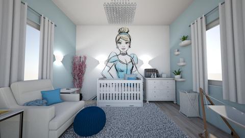 Cinderella Nursery - Modern - Kids room - by cbruno23
