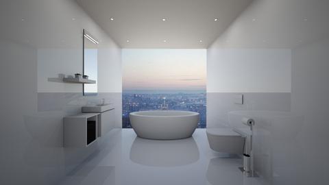 NY Bathroom - Minimal - Bathroom  - by deleted_1579725055_athinast