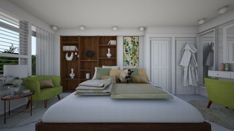Bedroom redesign - Modern - Bedroom - by mirkaaa