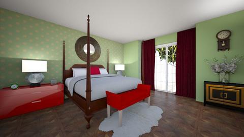Poppy Bedroom - Bedroom  - by JB Eternal Designs
