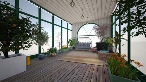 green house - Garden  - by kat1016