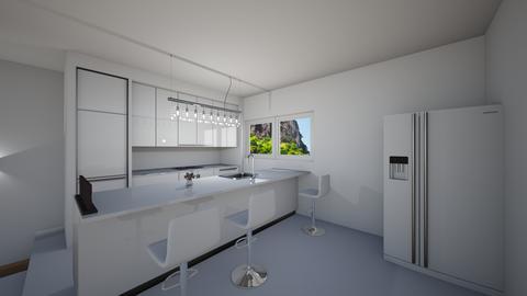 Modern_kitchen  - by saratevdoska