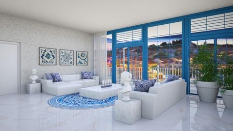 Greek living - Modern - Living room  - by Aristar_bucks
