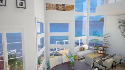 glass living room - by tiffanynichole
