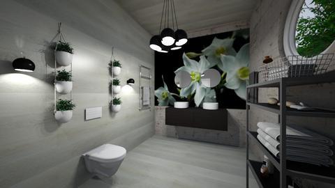 Bath_Interior - Modern - Bathroom  - by Nikos Tsokos
