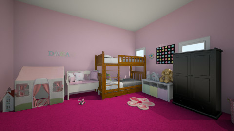 Little Girl Dream Room - Glamour - Kids room  - by MyFutureHome