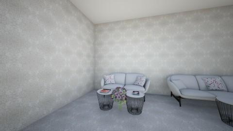 flower - Living room  - by Albnisa