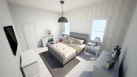Future Guest Room - Country - Bedroom  - by El2002