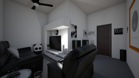 Panda - Living room  - by OliverTheWizard