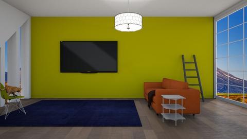 Newbie Cat  - Living room  - by designcat31