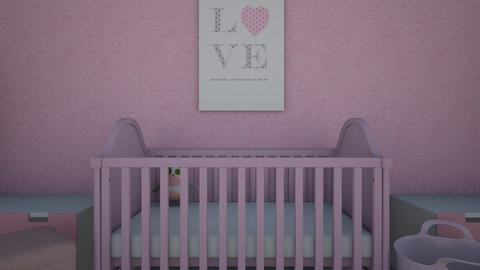Pink Baby Room - Kids room  - by len1924